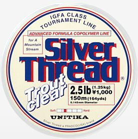 Unitika Silver Thread Trout Clear 150m