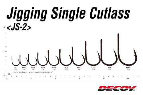 Decoy Jigging Single Cutlass JS-2
