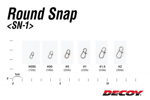 Decoy Round Snap SN-1