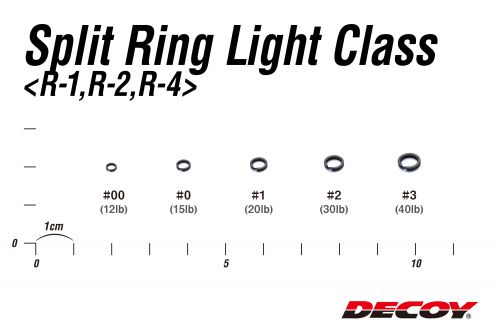 Decoy Split Ring Light R-4 Silver