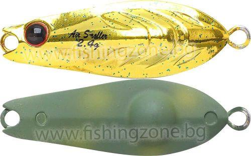 Lucky Craft Air S-Roller 2.4 g - Gold And Frog
