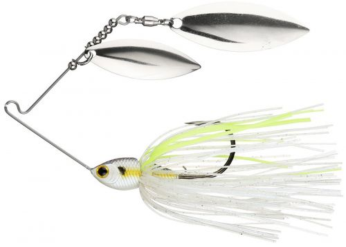 Lucky Craft SKT Spinner Bait 5/8oz Double Willow Chartreuse Shad