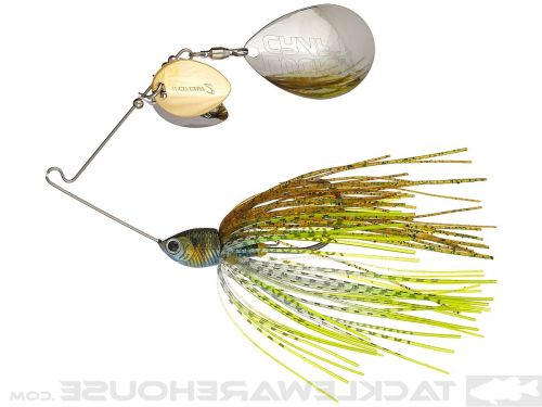 Lucky Craft SKT Spinner Bait 5/8oz Crazy Double Colorado Baby Blue Gill