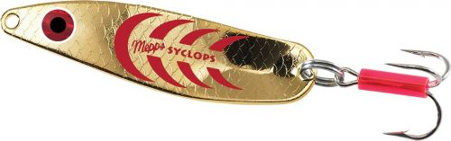 Mepps Syclops 0 Gold Red