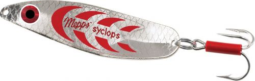Mepps Syclops 0 Silver Red