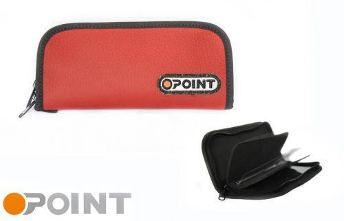 Orange Point Wallet Red