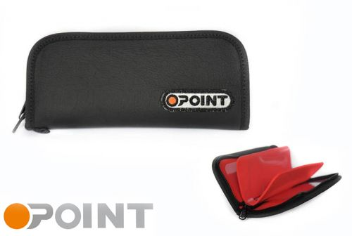 Orange Point Wallet Graphite