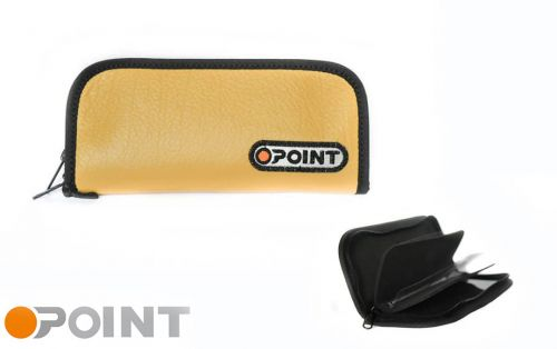 Orange Point Wallet Ocher