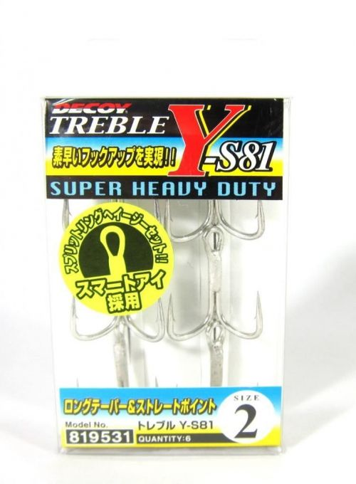 Decoy Treble Y-S81