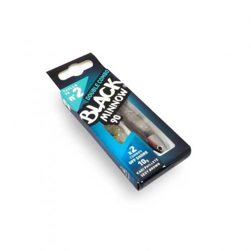 Fiiish Black Minnow №2 Double Combo - 9 cm, 10g