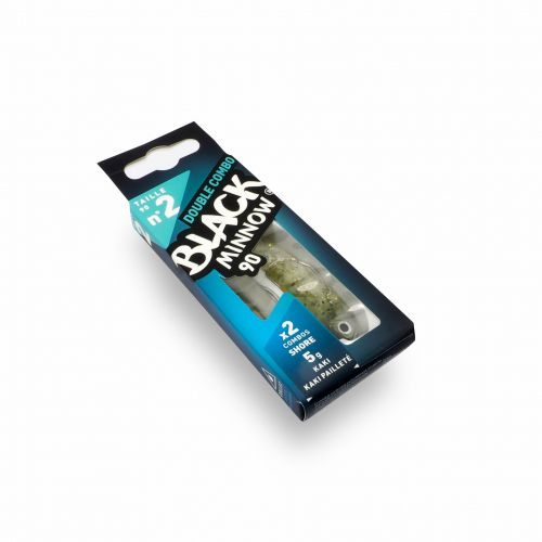 Fiiish Black Minnow №2 Double Combo - 9 cm, 5g