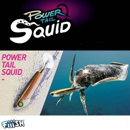 Fiiish Power Tail Squid Off Shore 25g, 95mm